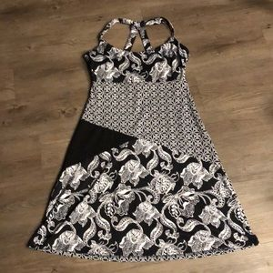 Lola Black and white dress